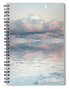 Turquoise Moon Rise Spiral Notebook