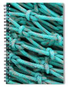 Turquoise Nets Spiral Notebook