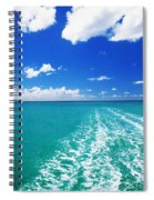 Turquoise Ocean Spiral Notebook