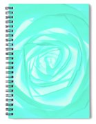 Turquoise Rose Spiral Notebook