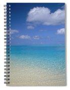 Turquoise Shoreline Spiral Notebook