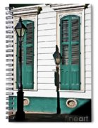 Turquoise Shutters Spiral Notebook