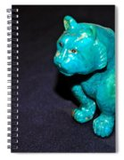 Turquoise Tiger Spiral Notebook