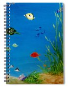 Turtle And Friends Spiral Notebook
