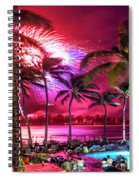 Turtle Bay - Independence Day Spiral Notebook