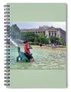 Turtle Dove Spiral Notebook