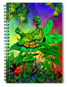 Turtle-totter Spiral Notebook