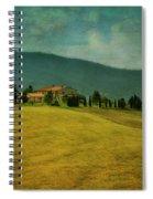 Tusacany Hills Spiral Notebook