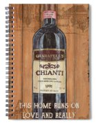 Tuscan Chianti 2 Spiral Notebook