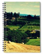 Tuscan Country Spiral Notebook