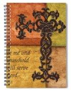 Tuscan Cross Spiral Notebook