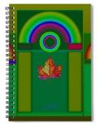 Tuscan Green Spiral Notebook