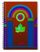 Tuscan Heat Spiral Notebook