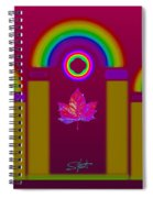 Tuscan Magenta Spiral Notebook