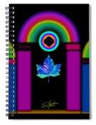 Tuscan Neon Spiral Notebook
