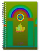 Tuscan Olive Spiral Notebook