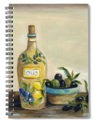 Tuscan Olive Oil  Spiral Notebook