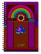 Tuscan Pink Spiral Notebook