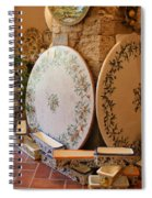 Tuscan Pottery Spiral Notebook