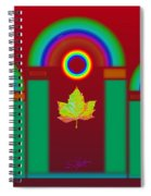 Tuscan Red Spiral Notebook