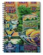 Tuscan Summer Lemonade  Spiral Notebook