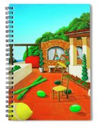 Tuscan Vacation Spiral Notebook