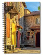 Tuscan Villa Early Morning Spiral Notebook