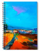 Tuscan Village Spiral Notebook