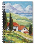 Tuscan Villas Spiral Notebook