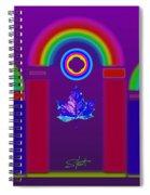 Tuscan Violet Spiral Notebook