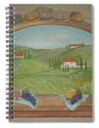 Tuscan Window View Spiral Notebook