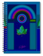 Tuscan Winter Spiral Notebook