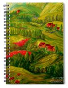 Tuscany At Dawn Spiral Notebook