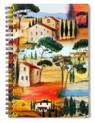 Tuscany Collage Spiral Notebook