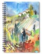Tuscany Landscape 03 Spiral Notebook