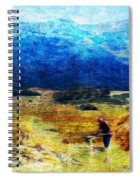 Tusheti Hay Makers I Spiral Notebook