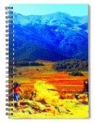 Tusheti Hay Makers IIi Spiral Notebook
