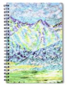 Tusheti Hay Meadows Caucasus Mountains I Spiral Notebook