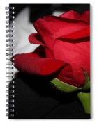 Tuxedo Boutonneire Spiral Notebook