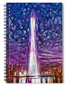 Tv Tower Spiral Notebook