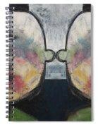 Tweedledee And Tweedledum Spiral Notebook