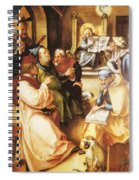 Twelve Year Old Jesus In The Temple 1497 Spiral Notebook