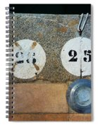 Twenty Five Spiral Notebook