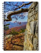 Twenty Minute Cliff Blue Ridge Parkway I Spiral Notebook