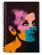 Twiggy Pop Art 2 Spiral Notebook
