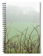 Twigs In Mist Spiral Notebook