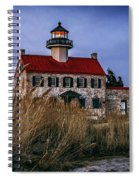Twilight At East Point Spiral Notebook
