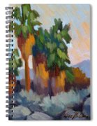 Twilight At Indian Canyons  Spiral Notebook