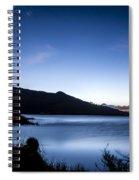 Twilight At Klondike Lake Spiral Notebook