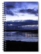 Twilight At Loch Bracadale Spiral Notebook